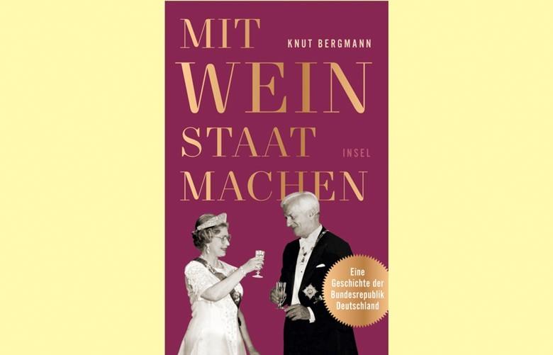 Mit Wein Staat machen, vergnügliches Buch von Knut Bergmann
