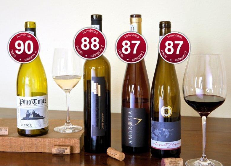 Beste der bonvinitas-Weinbewertung vom 2. März 2015