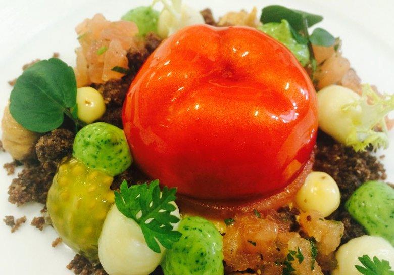 """Virtuelle Tomate"", Idee von Simon Stirnal"