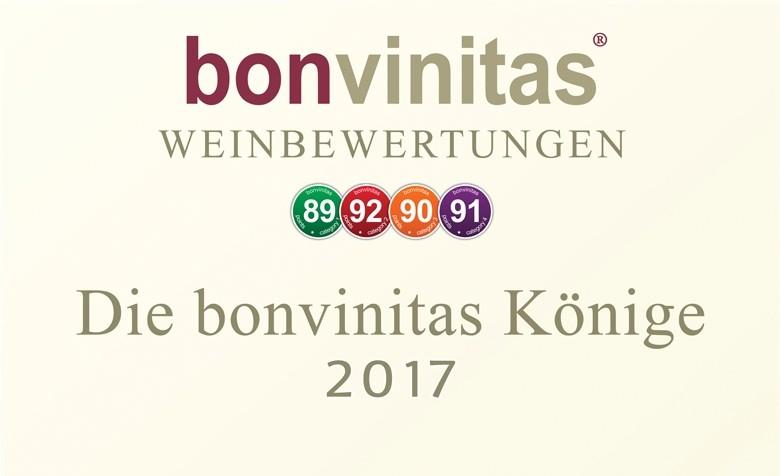 Die besten Weinerzeuger 2017: Die bonvinitas-Könige 2017