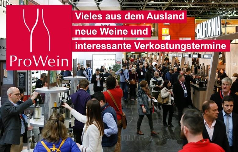 ProWein 2018: riesiges ausländisches Weinangebot