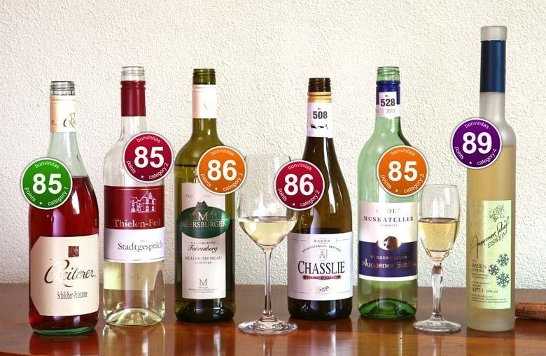 Interessante Weine  aus der bonvinitas-Bewertung vom 12. Mai 2014