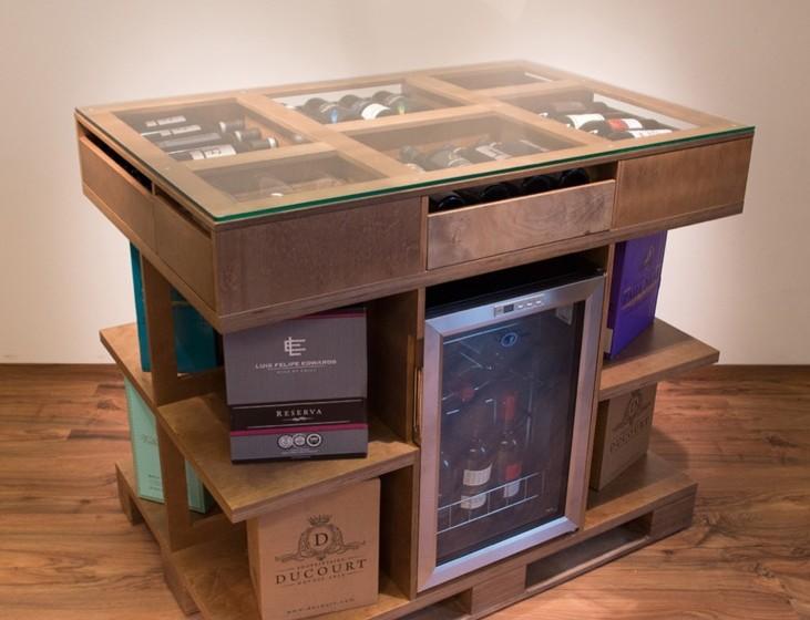 Designer-Möbel für Wein und Spirituosen