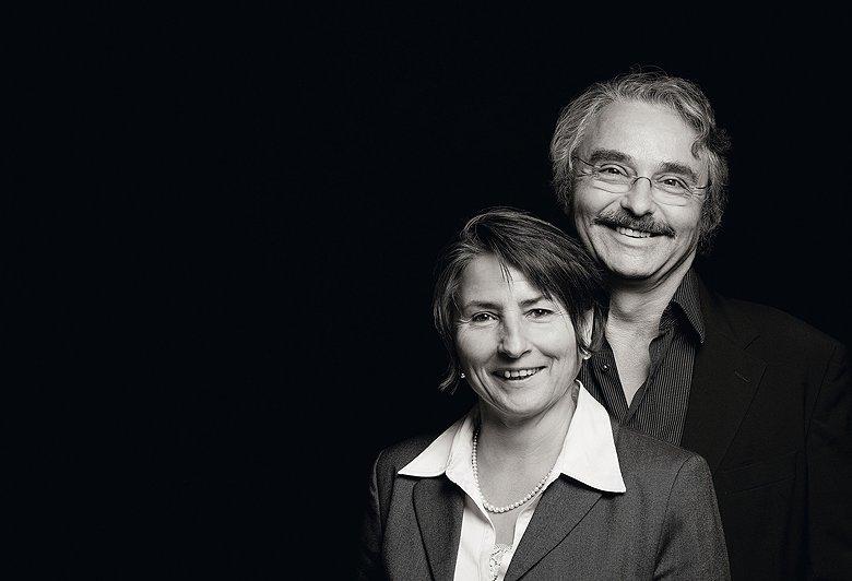 Reinhard Löwenstein und seine Frau Cornelia Heymann-Löwenstein setzen auf die Terrassenlagen der Mosel.