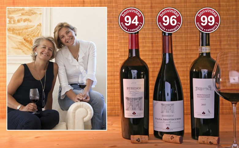 Großartige Rotweine zum Verlieben - die Weinentdeckung der Redaktion: Lungarotti aus Umbrien, dem Herzen Italiens. Chiara und Teresa Lungarotti (von links)