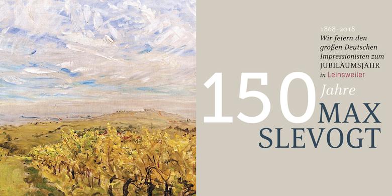 Max Slevogt, Anhaltische Gemäldegalerie Dessau; Bildarchiv Südliche Weinstrasse e.V., Grafik: Rainer Keller
