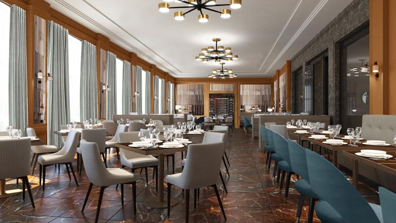 Neuerstehung des berühmten Hotels Elephant in Weimar - das Restaurant AnnA