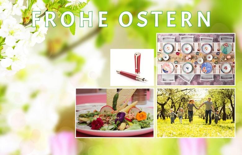 Ostern - Fest der Freude und des Lebens: Osterfrühstück, Ostereier, Geschenke suchen, Ostermenü, Weintipps, Osterspaziergang und vieles mehr