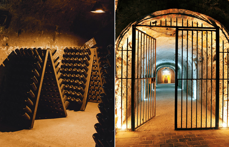 Eindrücke aus dem weltbekannten Champagner-Haus Moët & Chandon.