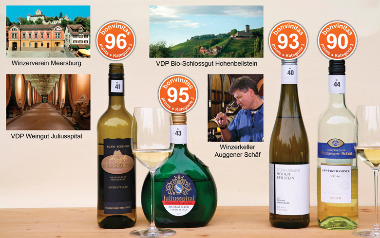 Die besten Weine mit Restsüße: bonvinitas Weinbewertung 11.6.2018