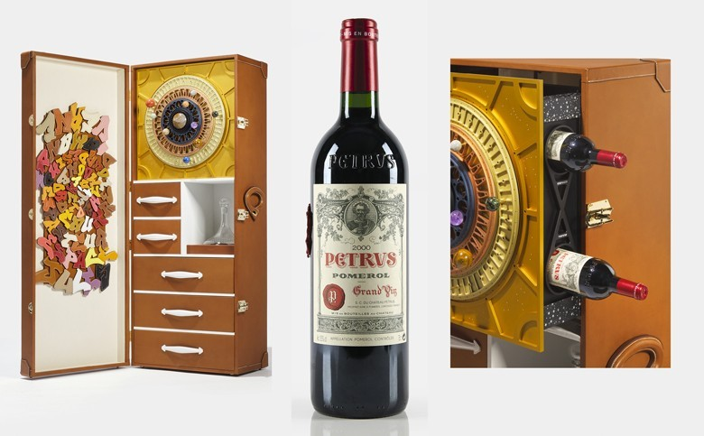 Ein Flasche Château Pétrus bei Christie's für 1 Million Dollar 14 Monate an Bord der Internationalen Raumstation gereift
