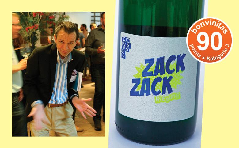 """""""Crazy Uwe"""" kreiert seinen ersten Riesling: ZACK ZACK."""